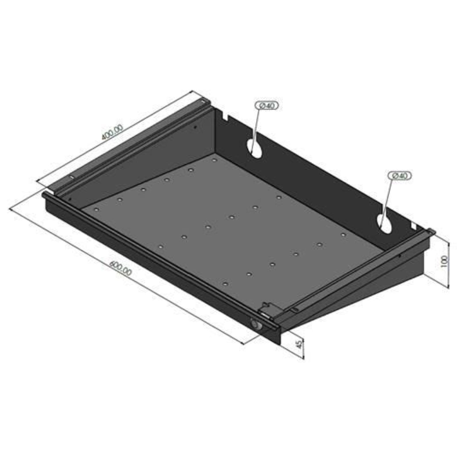 Eisnhauer Laptop Schublade