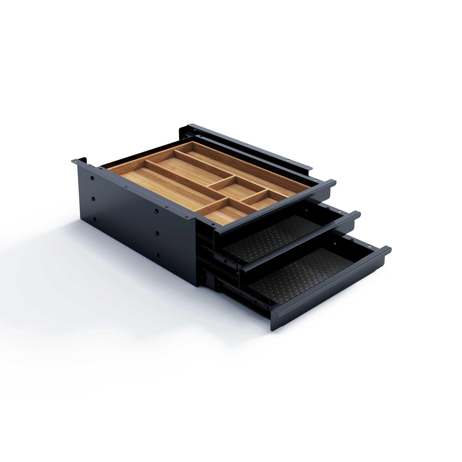 Eisnhauer Schubladenbox Tri Grip Schwarz