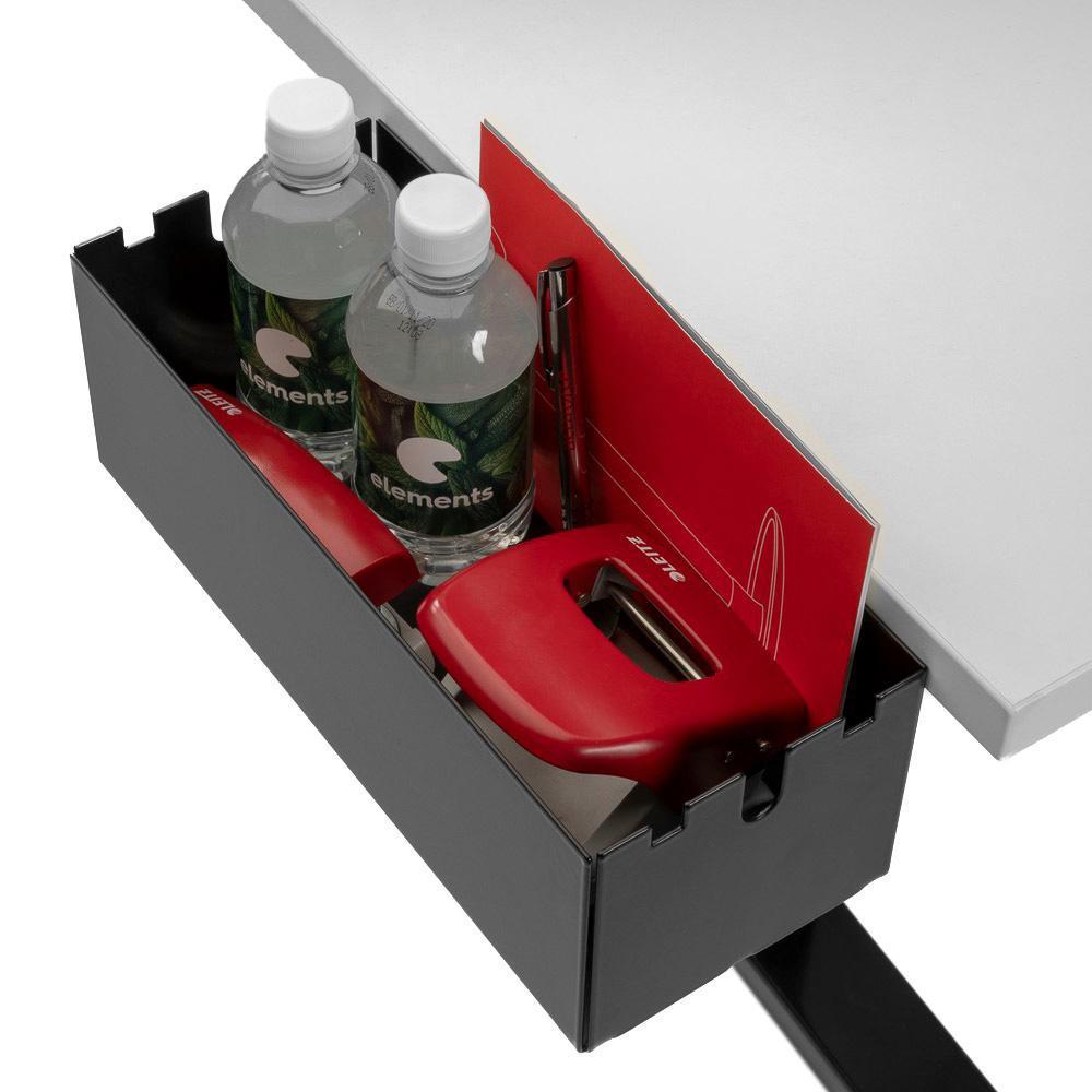 Multibox S mit Büroutensilien befüllt